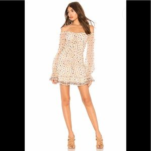 Tularosa XRevolve NWT Kassandra Embroidered Dress
